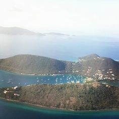 virgintraders Day 22 #nobaddays in the #bvi great shot over the West End Tortola, home to our favorite spot for locally caught dinner @fishnlime