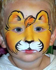 1000 images about maquillage enfant on pinterest face paintings clowns and christmas face - Maquillage simple enfant ...