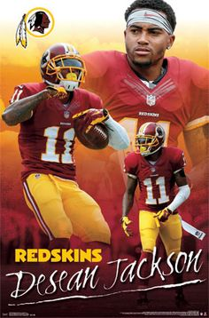 Washington Redskins - DeSean Jackson 2014 | NFL | Sports | Hardboards | Wall Decor | Pictures Frames and More | Winnipeg | Manitoba | MB | Canada