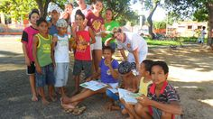 Três Lagoas Lions Club (Brazil) | Lions held a reading and counting activity for children