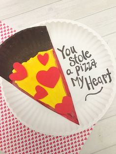 This is the cutest most kid-friendly Valentine's Day paper plate craft I've seen yet! Awesome idea for preschool crafts and elementary classroom crafts. My kids know Valentine's Day means pizza and candy at school! Valentine's Day with Kids Paper Plate Crafts For Kids, Valentine's Day Crafts For Kids, Valentine Crafts For Kids, Daycare Crafts, Valentines Day Activities, Classroom Crafts, Paper Crafts, Valentines Day Craft Preschool, Children Crafts