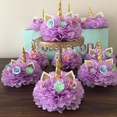 How to create a unicorn centerpiece for your unicorn party – BuzzTMZ Unicorn Themed Birthday Party, Birthday Cake Girls, 1st Birthday Parties, Birthday Party Decorations, Birthday Ideas, Unicorn Baby Shower Decorations, Garden Birthday, Star Decorations, Unicorn Centerpiece