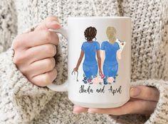 Best Friend Mug, Friend Mugs, Best Friend Gifts, Gifts For Friends, Grandma Mug, Grandmother Gifts, Nurse Mugs, Nurse Gifts, Personalised Name Mugs