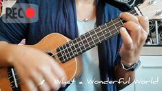What a Wonderful World - Frank Sinatra (LydiaZ Ukulele Cover) Louis Armstrong, What A Wonderful World, Ukulele, Wonders Of The World, Cover, Youtube, Blankets, Youtube Movies