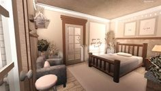 Two Story House Design, Unique House Design, Home Building Design, Building A House, Building Ideas, House Plans With Pictures, Suburban House, Cute Bedroom Ideas, Luxury House Plans