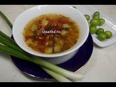 Ciorba de legume acrita cu corcoduse - Idealika Dan, Soup, Ethnic Recipes, Soups