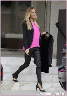 Kristin cavallari // pink and black
