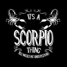 Scorpio-thing More