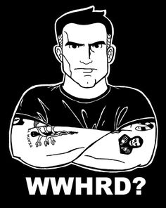 What would Henry Rollins do?   Yep.  Got this t-shirt