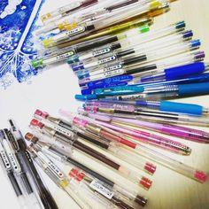 あたしの武器、ballpoint pen  My color ballpoint pen  自分らしいイラストを描けるように、日々精進。これからも。  #イラスト#イラストレーション #アート#ボールペン#ボールペン画#カラフル#illust #Illustration #ballpointpen #art #artwork #drawing #draw #doodle #picture#colorful