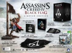 Assassin's Creed IV Black Flag Limited Edition - PlayStation 4,$129.99