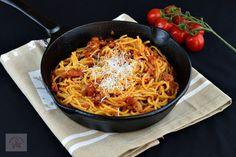 Paste cu ton - CAIETUL CU RETETE Past, Spaghetti, Cooking, Ethnic Recipes, Food, Salads, Kitchen, Past Tense, Essen
