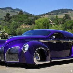 Always LOVE Purple! From American Classic Cars