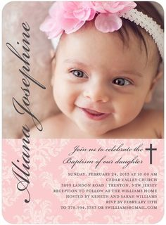 christening invitation design for boy - Google Search | Baptism ...