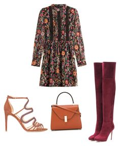"""""""Untitled #1441"""" by marxendjie on Polyvore featuring RED Valentino, Alexandre Birman, Jimmy Choo and Valextra"""