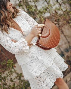 Top 10 eyelet dresses to shop right now for spring and summer via Chicwish an online shop that offers chic afforable clothing. Dress Outfits, Casual Dresses, Short Dresses, Fashion Dresses, Spring Dresses, Spring Outfits, Outfit Summer, White Eyelet Dress, Spring Fashion