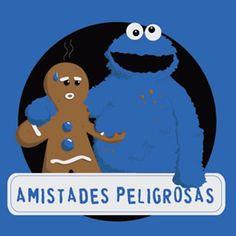 Camiseta Amistades Peligrosas en PAMPLING.com
