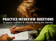 Interview Tips For Teachers. Learn more here: www.portfoliogen.com Interview Tips For Teachers, Practice Interview Questions, Learning, Studying, Teaching, Onderwijs