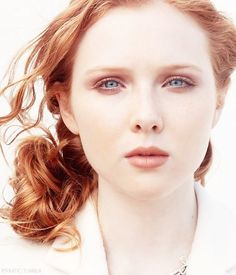Molly Quinn, whose amazing, mystical beauty served as the inspiration for Annabelle.