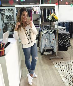 Pin by Ilina on moda 2 in 2019 Trendy Outfits, Cool Outfits, Fashion Outfits, Womens Fashion, Girl Fashion, Looks Style, Casual Looks, My Style, Look Blazer