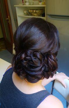Bridesmaids hair in Rome, Italy  http://janitahelova.com/