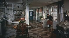 """White Christmas"". My all time favorite Christmas movie house. I could move in today and not change a thing."