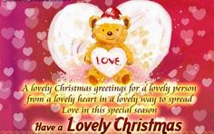 Best Christmas  Messages for girlfriend