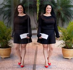 Um Scarpin vermelho = 2 Looks | http://flaviakitty.com/blog/2016/02/um-scarpin-vermelho-2-looks/