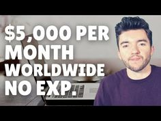 $5000/Month Worldwide Work-From-Home Job for Beginners 2021