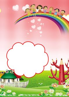 Rainbow Children Grow Archives Background Material – Fashion World Kids Background, Background Design Vector, Background Images, Borders For Paper, Borders And Frames, Christmas Fayre Ideas, Printable Border, Boarder Designs, Rainbow Sky