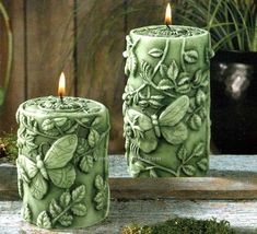 Curiously Intricate And Really Satisfying Carved Candle Art - Bored Art Fancy Candles, Cute Candles, Unique Candles, Beautiful Candles, Best Candles, Handmade Candles, Diy Candles, Pillar Candles, Carved Candles