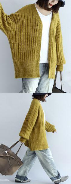 2017-thick-warm-sweater-cardigans-plus-size-v-neck-long-sleeve-knit-short-coats