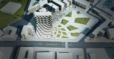 Paolo Venturella's Molise Headquarters to Feature Rotating Parametric Pixels