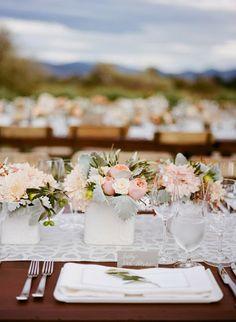SHANNON LEAHY EVENTS | Napa Wedding | Napa Valley Wedding Planner | Wine Country Wedding | Witt Estate | St. Helena Wedding | Farm Tables | Vineyard