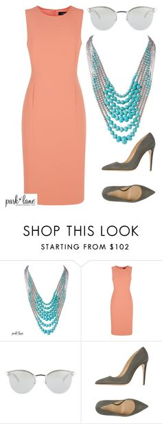 """""""Silver Spring"""" by parklanejewelry on Polyvore featuring Jaeger, Fendi and Armani Collezioni"""