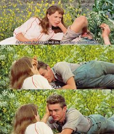 East of Eden - Ohh how adorable Jimmy Dean. I wish every guy would be this attentive...