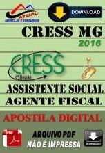 Apostila Digital Concurso Cress MG Assistente Social e Agente Fiscal 2016