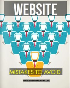 Mistakes to Avoid While Making A Website Websites are a must now. The problem that must businesses encounter is failure to come with a commendable website. This write up discusses some of the most common mistakes encountered while making websites.