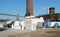 Thuga Groups Power-to-Gas Energy Storage site in Frankfurt, Germany which uses an ITM Power HGas