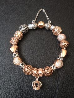 Gold and pave Pandora bracket ✌ ▄▄▄Click http://xelx.bzcomedy.site/ ✌▄▄▄ PANDORA…