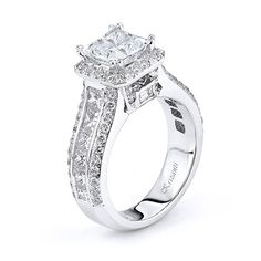 18KTW ENGAGEMENT RING, DIAMOND 2.16CT ROYAL COLLECTION
