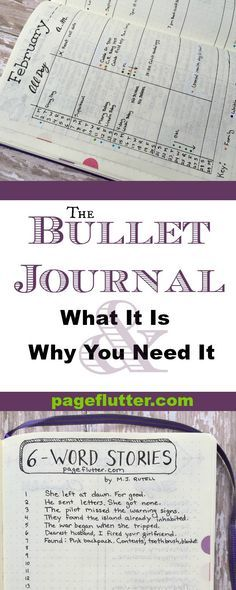 Bullet Journal: What it is & Why You Need it | pageflutter.com | Bullet journaling revolutionized how I organize my inspiration and clarified my goals. This system is so simple; it's pure genius!