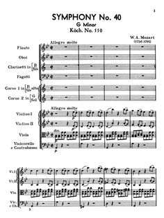 The opening of Mozart Symphony No. 40 in G minor.  It's best if you write what comes next (measures 10-87) before listening to it and determine if what you wrote is as good. : )