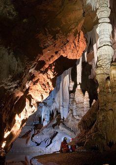 Grotta di Su Mannau in Sardinia, It