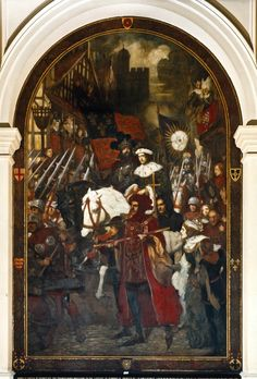 29. Henry VI Battle of Barnet Great Fire Of London, The Great Fire, King John, King George, Tower Of London, London City, Frederick Leighton, Edward Iv, Alfred The Great