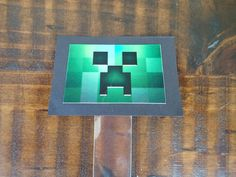 Minecraft treat tube DIY pack.