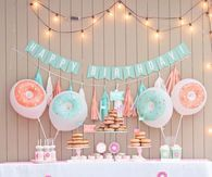 Donuts themed Birthday Party