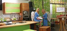 Himmlisch Kochen in der grünen Küche