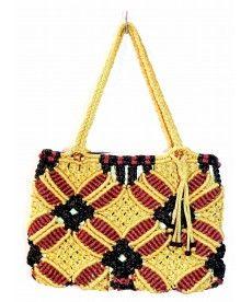 Grandicise Macrame Handbag