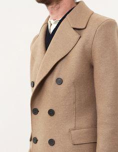 Harris Wharf London Double Breast Wool Coat